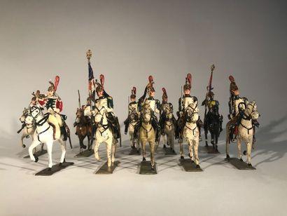Ier Empire. France. Dragons de la Garde (de...