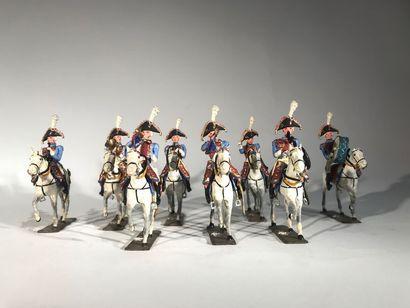Ier Empire. France. Musique des Grenadiers...