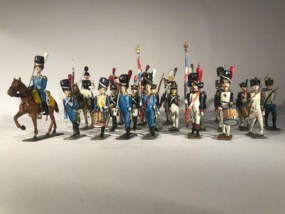 Ier Empire. France. Vrac de figurines diverses....