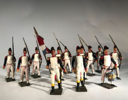Révolution. France. Volontaires de 1793....