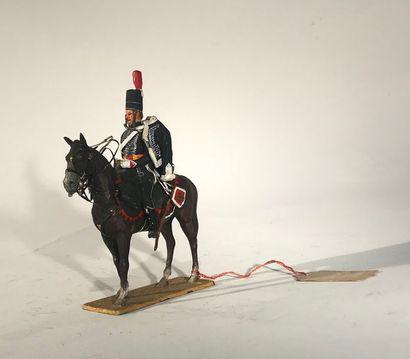 Métayer. Révolution. Hussard noir des volontaires...