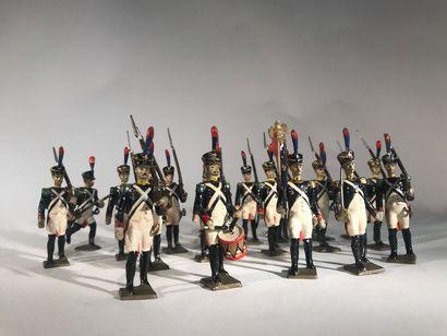 Ier Empire. France. Voltigeurs de la Garde....