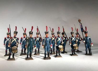 Ier Empire. France. Voltigeurs d'infanterie...