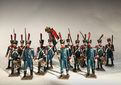 Ier Empire France. Voltigeurs d'infanterie...