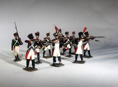 Ier Empire. France. Infanterie de ligne et...