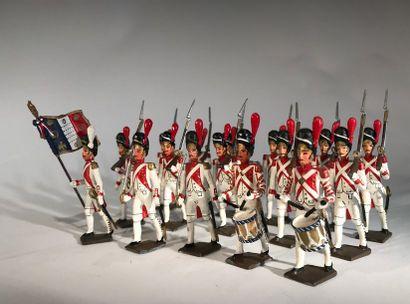 Ier Empire. France. Grenadiers hollandais....