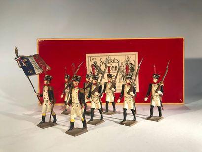 Ier Empire. France. Fusiliers de Saint-Cyr....