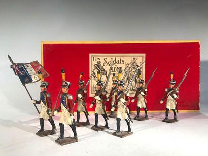 Ier Empire. 3ème Régiment d'infanterie Suisse....