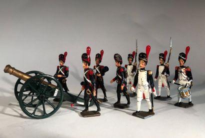 Ier Empire. France. Artilleurs et Grenadiers...