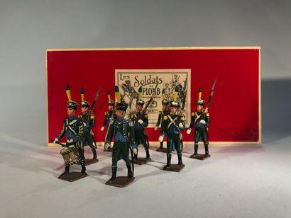 Ier Empire. Italie. Infanterie légère italienne....