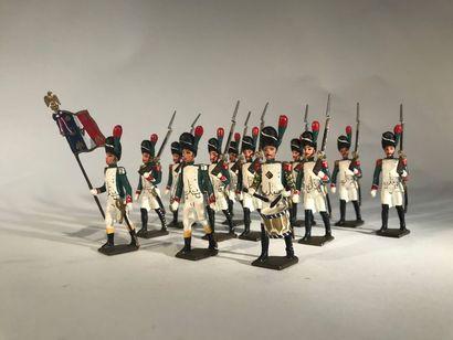 Ier Empire. Grenadiers italiens. Ce lot comprend...