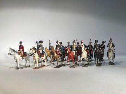 Ier Empire. France. Divers cavaliers. Ce...