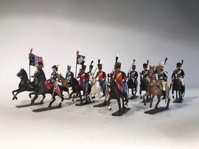 Ier Empire. France. Hussards et Chasseurs...