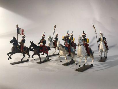 Ier Empire. France. Mameloucks de la Garde...
