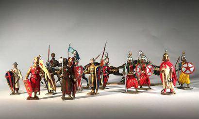 Moyen-Age. Les Croisades. Ensemble comprenant...