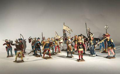 Moyen-Age-Renaissance. Moyen-Age: Archers....