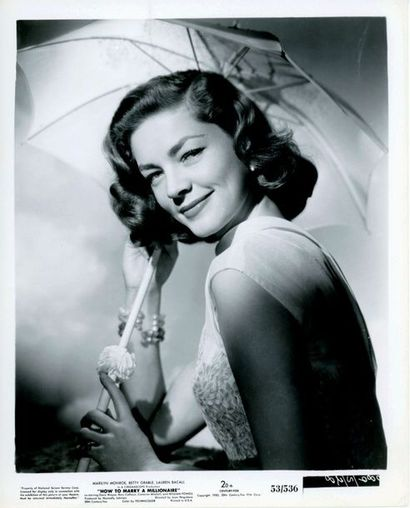 Photo originale - HOW TO MARRY A MILLIONAIRE - 1953