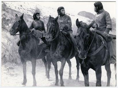 10 Photos originales - PLANET OF THE APES - 1967