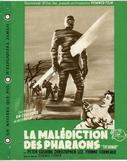 Dossier Presse - MUMMY (the) - 1959