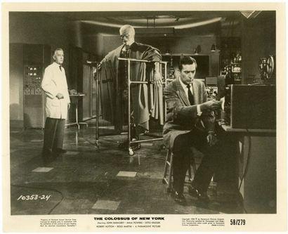 Photo originale - COLOSSUS OF NEW YORK (the) - 1958