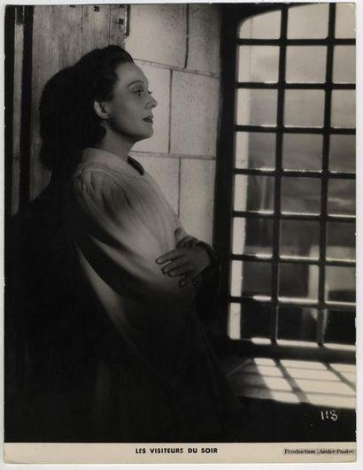 Photo originale - VISITEURS DU SOIR (les) - 1942