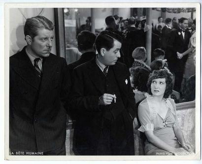 Photo originale - BETE HUMAINE (la) - 1938
