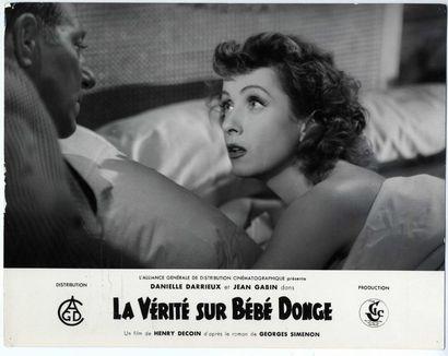 3 Photos originales - VERITE SUR BEBE DONGE (la) - 1952