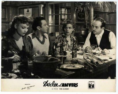 Photo originale - DEDEE D'ANVERS - 1947