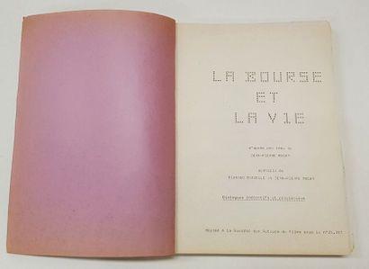 Découpage Technique - BOURSE ET LA VIE (la) - 1966