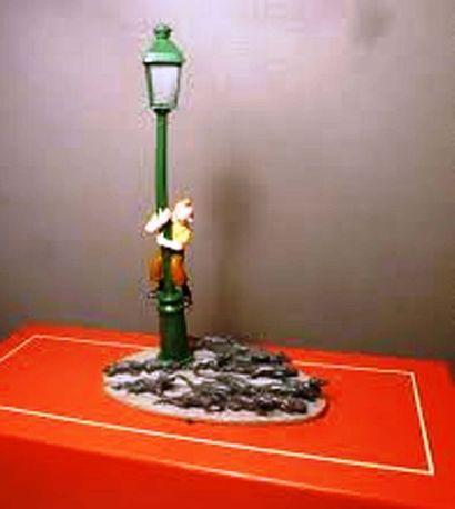 PIXI 4535. Tintin, le réverbère et les rats....