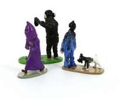 PIXI. 46220 Tintin Trio. Moulinsart, collection...