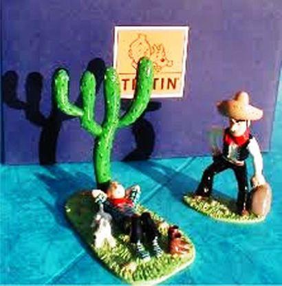 PIXI. 46201. Tintin dort et le bandit. Moulinsart...