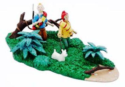 PIXI. 4574. Tintin Milou et Zorrino dans...