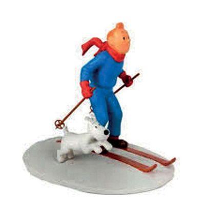 PIXI 45930 Tintin à Ski. Moulinsart 2003....