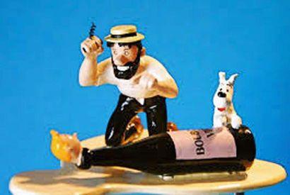 PIXI 46246. Tintin Haddock et le Bourgogne...
