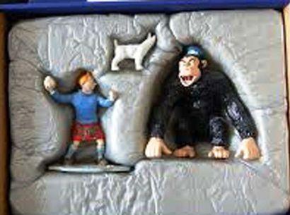 PIXI 46945. Tintin et le Gorille Ranko. Moulinsart...