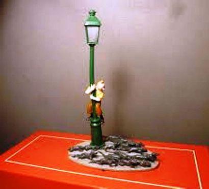 PIXI 4535. Tintin, le lampadaire et les Rats....