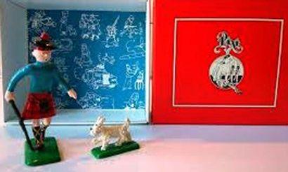 PIXI 4511. Tintin en écossais avec Milou....