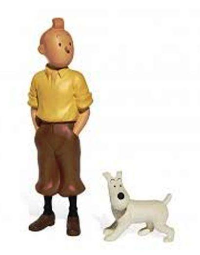 PIXI 45914. Tintin et Milou debout. Moulinsart...