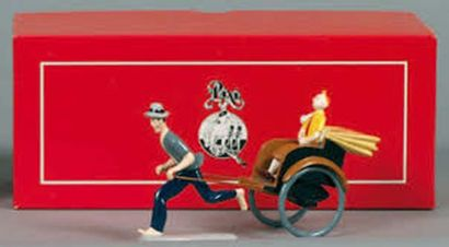 PIXI 4513. Tintin en pousse-pousse. 1991,...