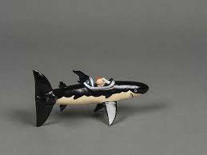 PIXI 4510 Tintin et le sous-marin requin....