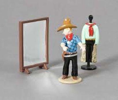 PIXI 46200 Tintin magasin de vêtements. Moulinsart...