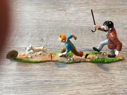 PIXI 46937. Tintin Trilogie. Moulinsart 2001....