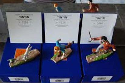 PIXI 3 modèles: 46937 - 46938 - 46939. Tintin,...