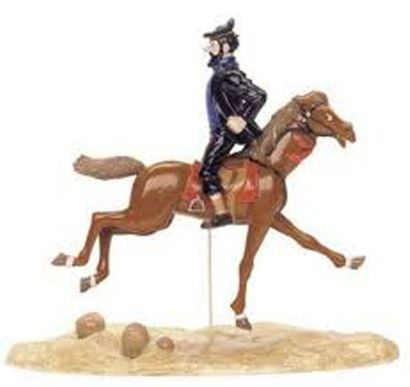 PIXI 46918. Haddock à cheval. Moulinsart...