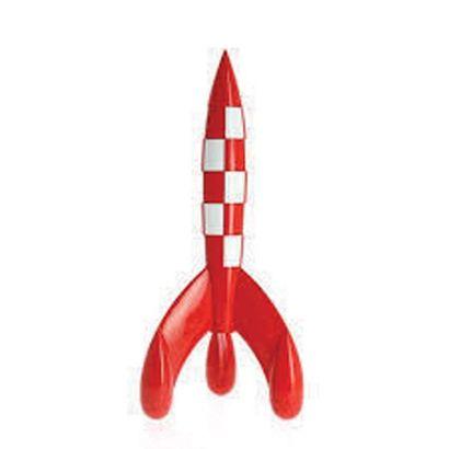 PIXI 46992. Le Fusée lunaire. Moulinsart...
