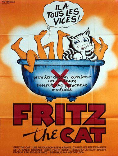 2 ex. - FRITZ THE CAT (the) - 1972