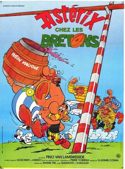 10 ex. - ASTERIX CHEZ LES BRETONS - 1986