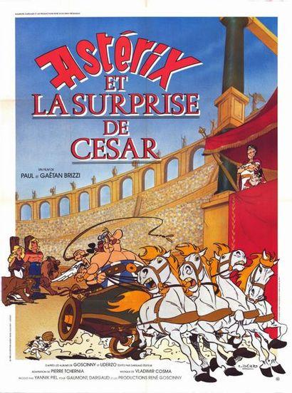 6 ex. - ASTERIX ET LA SURPRISE DE CESAR - 1985