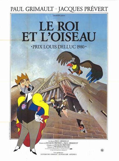 10 ex. - ROI ET L'OISEAU (le) - 1979 Affiche originale Française, 120x160cm - 10...